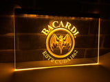 FREE Bacardi Breezer Bat LED Sign - Yellow - TheLedHeroes