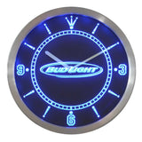 Bud Light Beer LED Wall Clock -  - TheLedHeroes