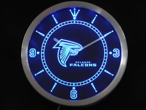 Atlanta Falcons Sign LED Wall Clock