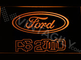 FREE Ford RS 2000 LED Sign - Orange - TheLedHeroes