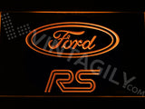 FREE Ford RS LED Sign - Orange - TheLedHeroes