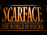 Scarface The World is Yours LED Neon Sign USB -  - TheLedHeroes