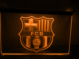 FREE FC Barcelona LED Sign - Orange - TheLedHeroes