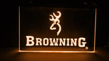 Browning Firearms LED Neon Sign Electrical - Orange - TheLedHeroes