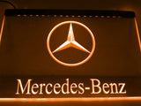 FREE Mercedes Benz 2 LED Sign - Orange - TheLedHeroes