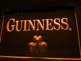 FREE Guinness Beer Shamrock (2) LED Sign - Orange - TheLedHeroes