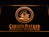 FREE Captain Morgan Spiced Rum LED Sign - Orange - TheLedHeroes