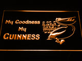 FREE My Goodness My Guinness LED Sign - Orange - TheLedHeroes