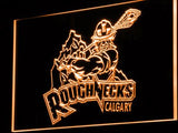 Calgary Roughnecks LED Neon Sign Electrical - Orange - TheLedHeroes