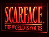Scarface The World is Yours LED Neon Sign USB - Orange - TheLedHeroes