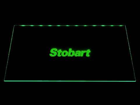 FREE Stobart LED Sign - Green - TheLedHeroes