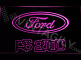 FREE Ford RS 2000 LED Sign - Purple - TheLedHeroes