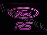 FREE Ford RS LED Sign - Purple - TheLedHeroes