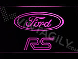 Ford RS LED Neon Sign USB - Purple - TheLedHeroes
