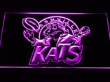 Nashville Kats  LED Neon Sign USB - Purple - TheLedHeroes