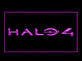 FREE Halo 4 LED Sign - Purple - TheLedHeroes