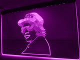 NWA Compton Eazy E LED Neon Sign USB - Purple - TheLedHeroes