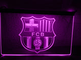 FREE FC Barcelona LED Sign - Purple - TheLedHeroes