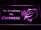 FREE My Goodness My Guinness LED Sign - Purple - TheLedHeroes