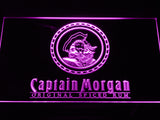 FREE Captain Morgan Spiced Rum LED Sign - Purple - TheLedHeroes