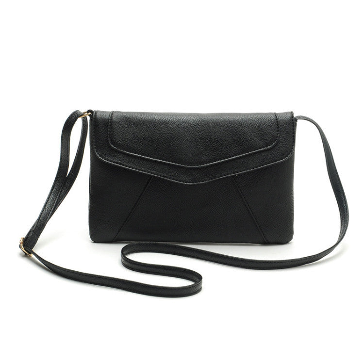 FREE SHIPPING - Envelope Style Purse - Black - TheLedHeroes