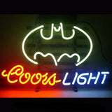 Coors Light Batman Neon Bulbs Sign 17x14