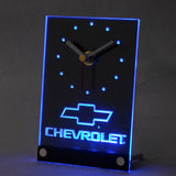 Chevrolet 3D LED Table Desk Clock