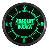 Absolut Vodka LED Wall Clock