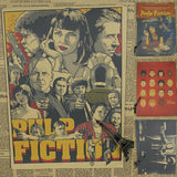 Vintage Pulp Fiction Wall Decor -  - TheLedHeroes