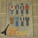 Vintage Pulp Fiction Wall Decor - Gray - TheLedHeroes