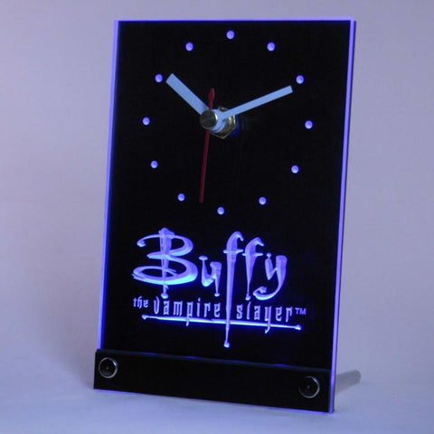 Buffy the Vampire Slayer Table Desk 3D LED Clock