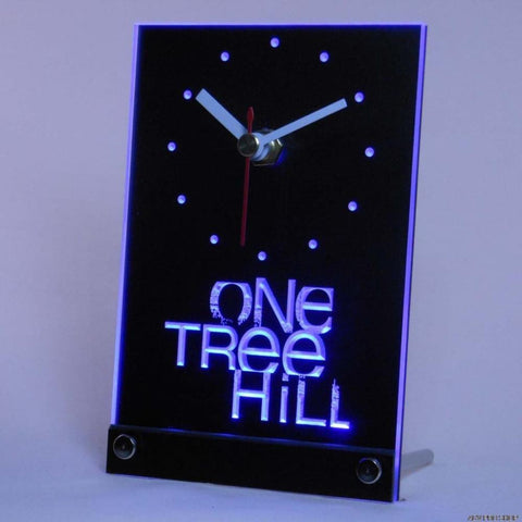 One Tree Hill Bar Beer Bar Table Desk 3D LED Clock -  - TheLedHeroes