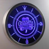 Guinness 1759 Shamrock Bar Beer LED Wall Clock -  - TheLedHeroes