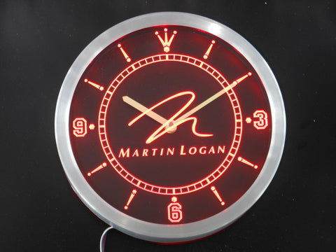 Martin Logan Speaker Audio Home LED Wall Clock -  - TheLedHeroes