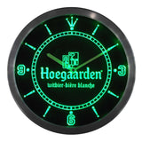 Hoegaarden Belgium Beer Bar LED Wall Clock