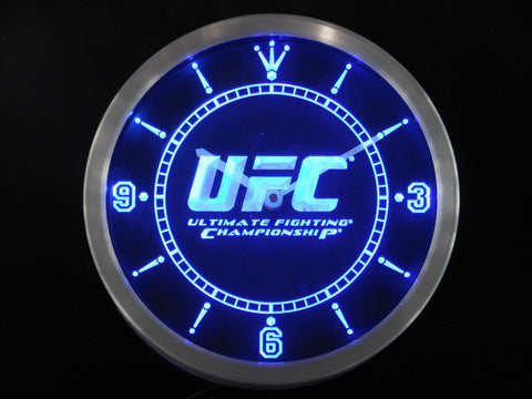 Fight Club Game Man Cave LED Wall Clock -  - TheLedHeroes