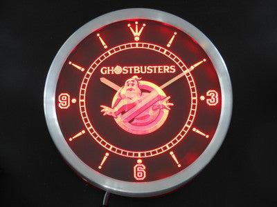 Ghostbusters LED Wall Clock -  - TheLedHeroes