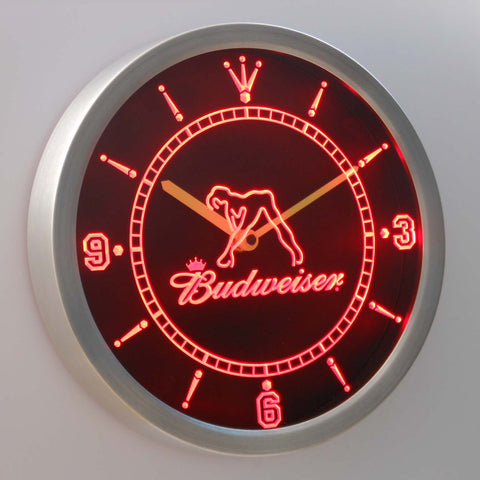 Budweiser Exotic Dancer Stripper LED Wall Clock -  - TheLedHeroes