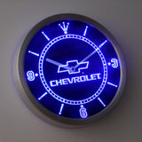 Chevrolet LED Wall Clock -  - TheLedHeroes