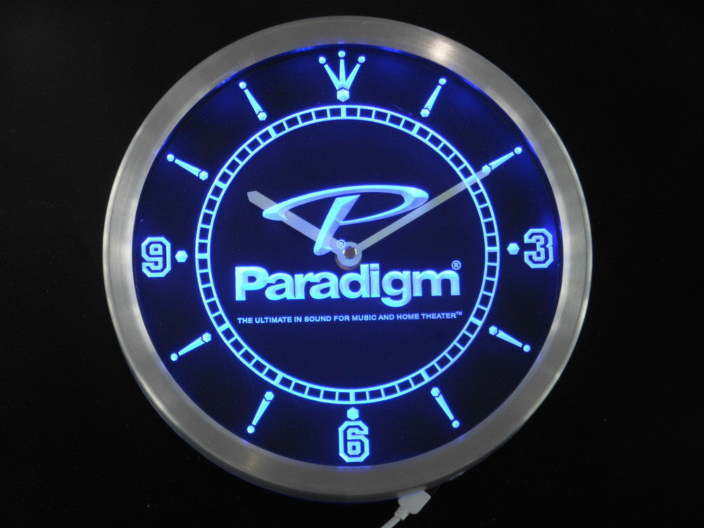 Paradigm Speakers Home Theater LED Wall Clock -  - TheLedHeroes