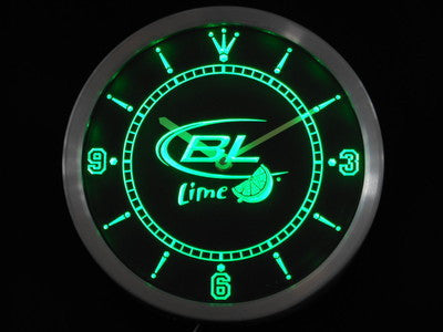 Bud Light Lime Beer Bar LED Wall Clock -  - TheLedHeroes