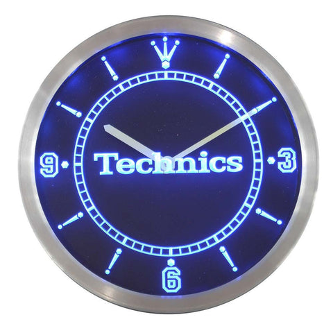 Technics Turntables DJ Music LED Wall Clock -  - TheLedHeroes