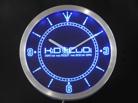Kid Cudi Man On The Moon End of Day LED Wall Clock -  - TheLedHeroes