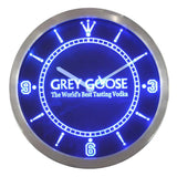 Grey Goose Vodka Bar Beer LED Wall Clock -  - TheLedHeroes