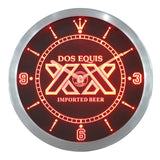 Dos Equis Beer Bar Pub LED Wall Clock