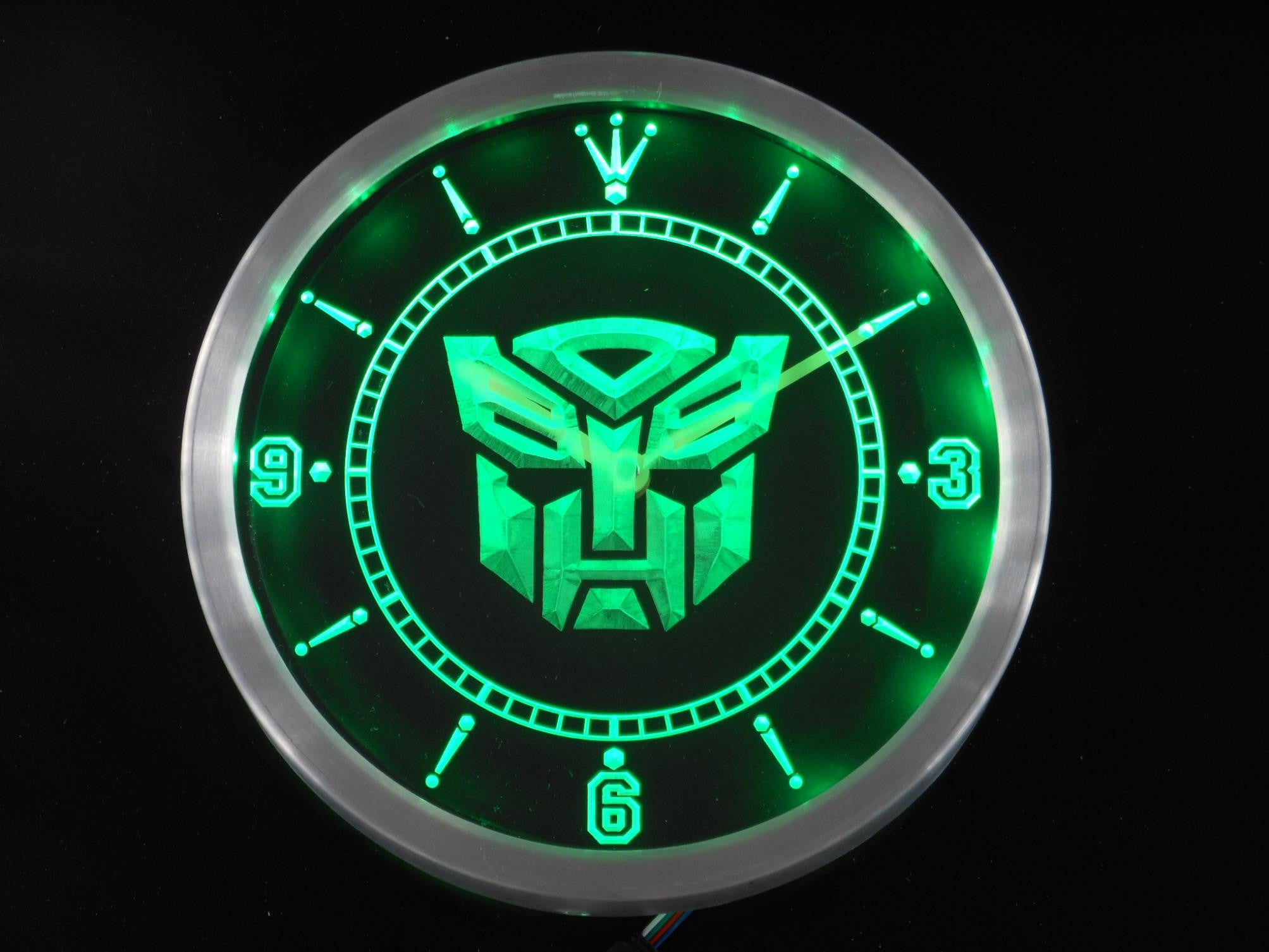 Transformers robot led wall clock vintagily transformers robot led wall clock amipublicfo Choice Image