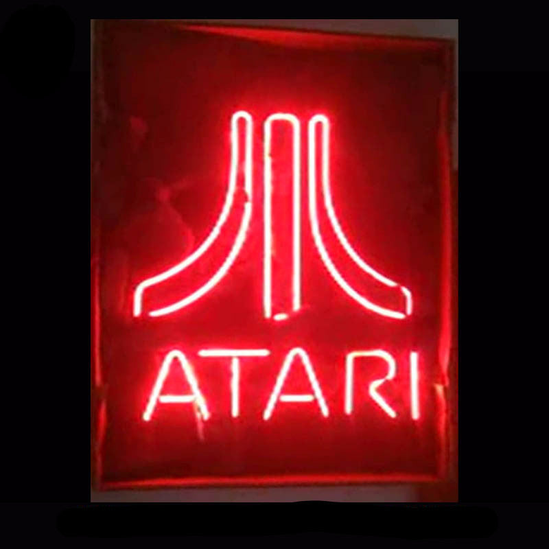 Atari Neon Bulbs Sign 17x14 -  - TheLedHeroes