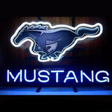 Mustang Neon Bulbs Sign 17x14 -  - TheLedHeroes