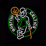 Boston Celtics Neon Bulbs Sign 26x26 -  - TheLedHeroes