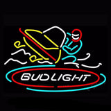 Bud Light Snowmobile Neon Bulbs Sign 30x20